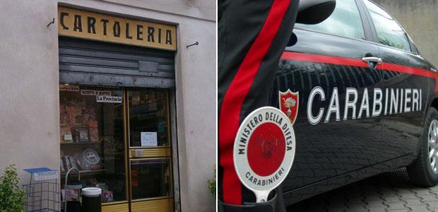 cartoleria-rapina-carabinieri-ev