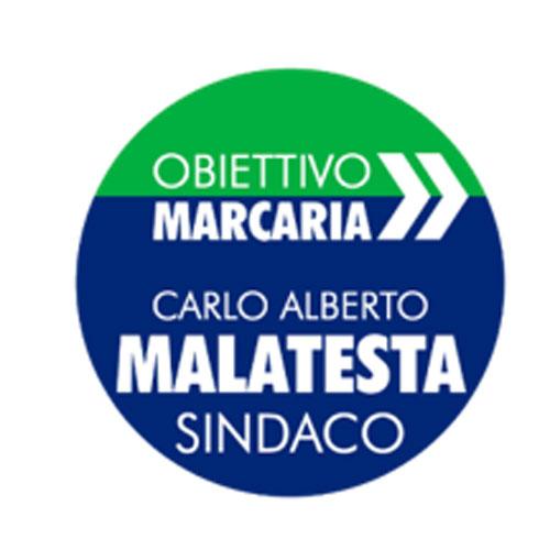 Nella foto il logo della lista