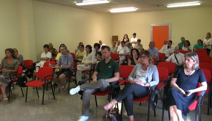 Nella foto il pubblico nella sala conferenza