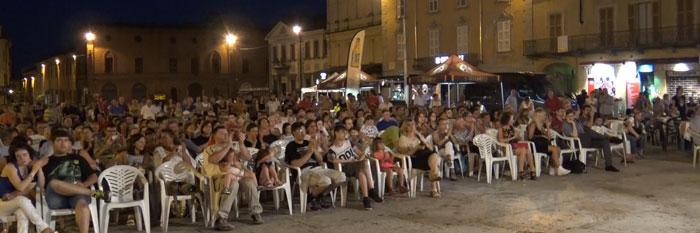 Nella foto il pubblico presente
