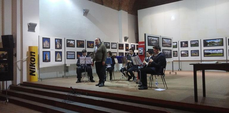 L'esibizione di Lanzetti e dell'ensemble Salieri