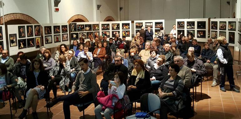 Il pubblico in Auditorium alla presentazione