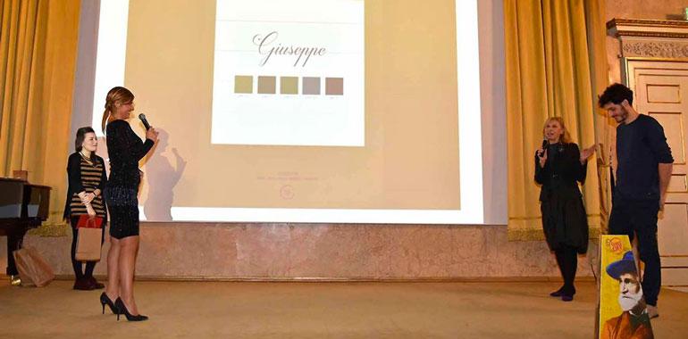 Nella foto Marco Goi premiato a Parma