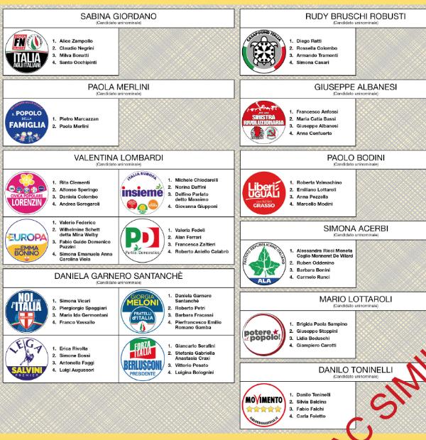 L 39 italia e l 39 oglio po al voto dalle 7 alle 23 seggi for Senato centralino