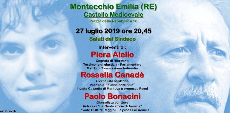 A Montecchio Emilia una <br /> serata tra mafia e legalità sulle <br /> orme di Paolo Borsellino ... - OglioPoNews