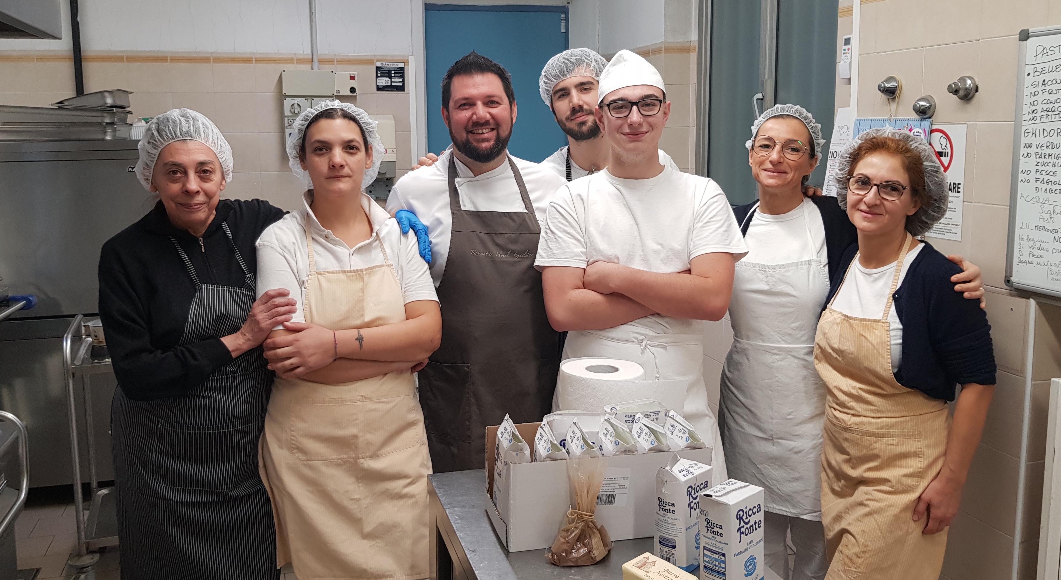 Viadana, Istituto Geriatrico Grassi: lo Chef Torresani prepara un menù prelibato per i nonni - OglioPoNews